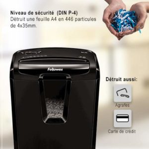destructeur de documents Fellowes 4603101